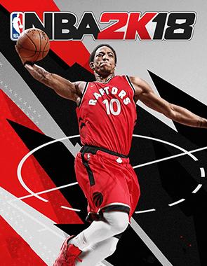 NBA 2K18 - Cover