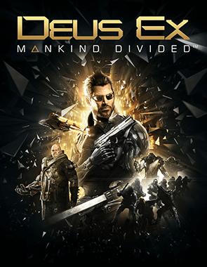 Deus Ex Mankind Divided - Cover