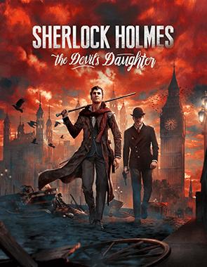 Sherlock Holmes The Devil's Daughter - Cover