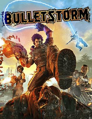 Bulletstorm - Cover