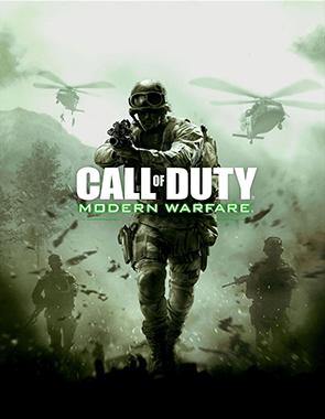 Call of Duty 4 Modern Warfare - Cover