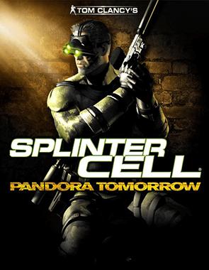 Tom Clancy's Splinter Cell Pandora Tomorrow - Cover