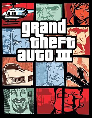 GTA 3 - Cover