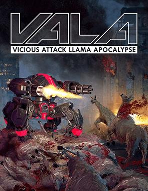 Vicious Attack Llama Apocalypse - Cover