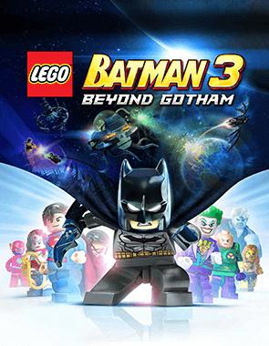 Lego Batman 3 Beyond Gotham - Cover